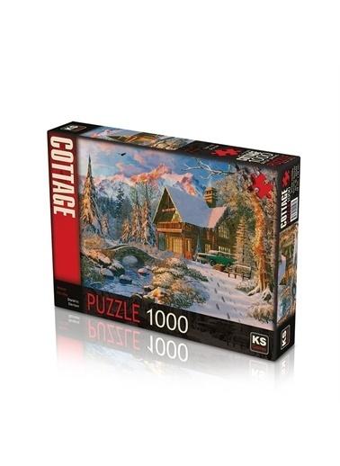 KS Puzzle KS Puzzle 20503 Winter Holiday Temalı 1000 ParÇa Puzzle Renkli